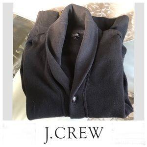 J. Crew Black Cardigan Sz M